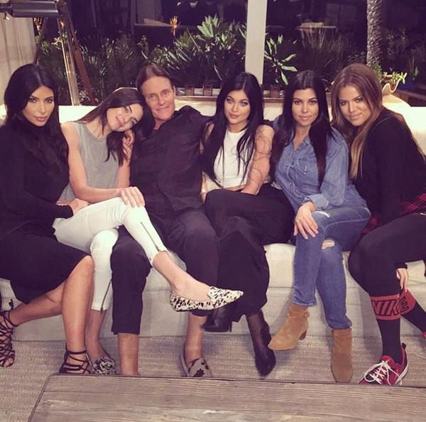 Bruce Jenner With Daughters