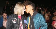 Jaden smith kisses girlfriend sarah snyder