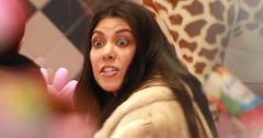 Exclusive… Kim And Kourtney Kardashian Hit The Mall To Film 'KUWTK'
