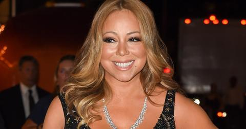 Mariah Carey attends the Harpers Bazaar fashion event at the Plaza hotel