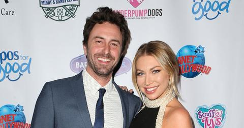 Stassi Schroeder And Beau Clarke On Red Carpet