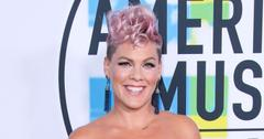 Pink Wears Pink Hair At the American Music Awards