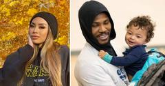 montana yao malik beasley kicked out house son makai affair larsa pippen