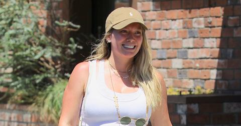 Pregnant hilary duff east sushi triggers insta moms main