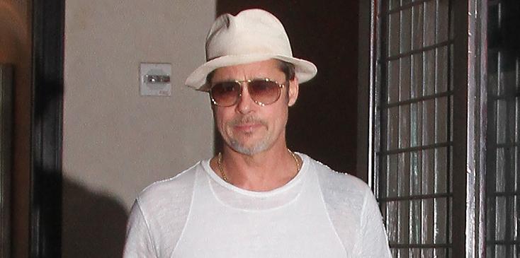 Brad Pitt Sighting, NYC