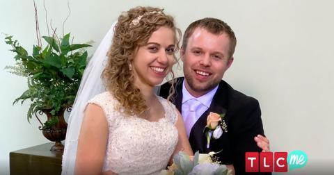 John david duggar new wife abbie dance wedding pp