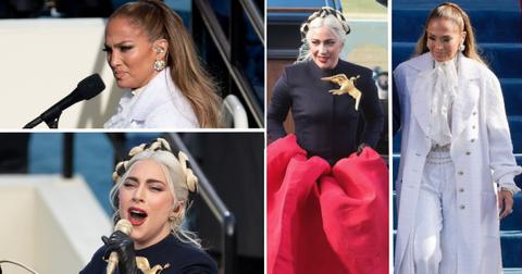 jlo gaga outfit feud postpic