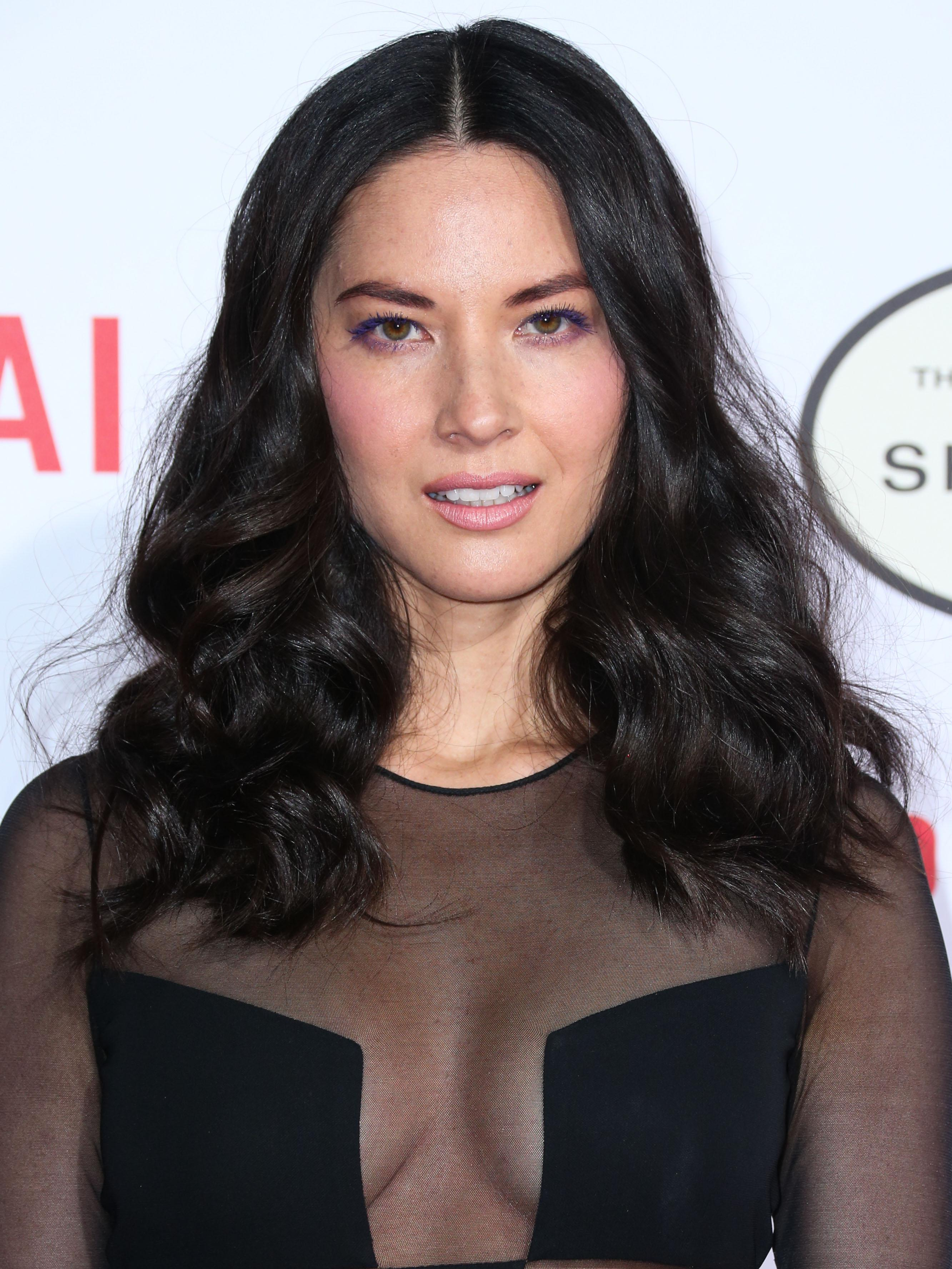 Olivia Munn arrives at the Los Angeles Premiere of Lionsgate's 'Mortdecai' in Hollywood
