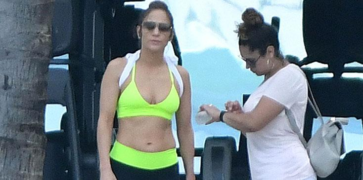 Jennifer Lopez Is Spotted At Bakers Bay Golf & Ocean Club While Vacationing With New Boyfriend Alex Rodriguez