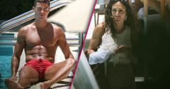 cristiano ronaldo shirtless mystery woman pics