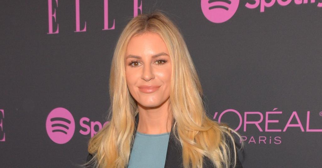Pregnant Morgan Stewart Flaunts Her Baby Bump In A Nude