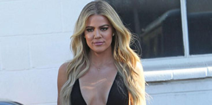 Khloe Kardashian Leaves Little to The Imagination At Studio in LA