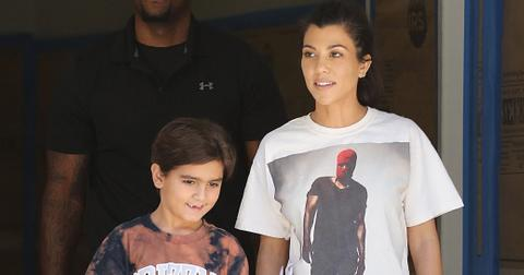 Kourtney kardashian son mason