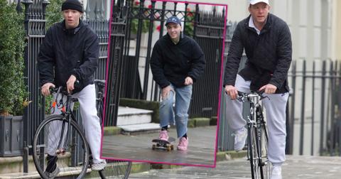 rocco ritchie guy ritchie bike ride