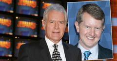 Alex Trebek of Jeopardy, Inset Ken Jennings