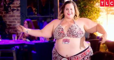 Whitney way thore near nude belly dance video 1