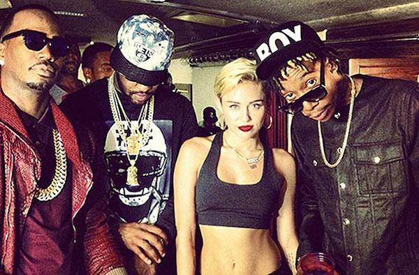 Miley Cyrus Wiz Khalifa Juicy J Mike Will 639×420