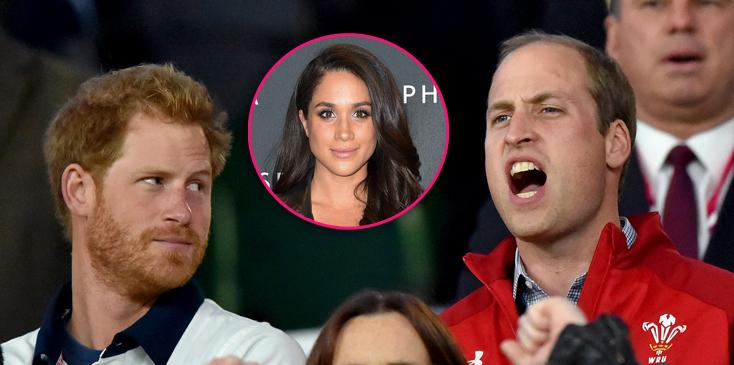 Prince william speaks meghan markle disapproval statement prince harry girlfriend support priyanka chopra hero