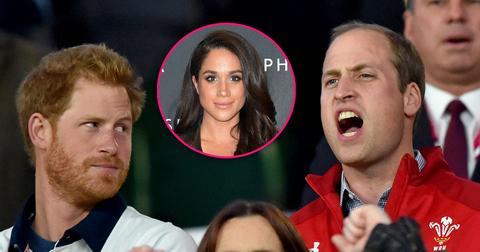 Prince william speaks meghan markle disapproval statement prince harry girlfriend support priyanka chopra hero