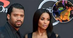 Ciara & Russell Wilson Take Kids Sienna & Future To Disneyland
