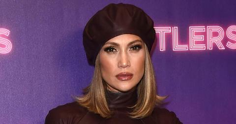 Jennifer Lopez Pole Training Bruises PP
