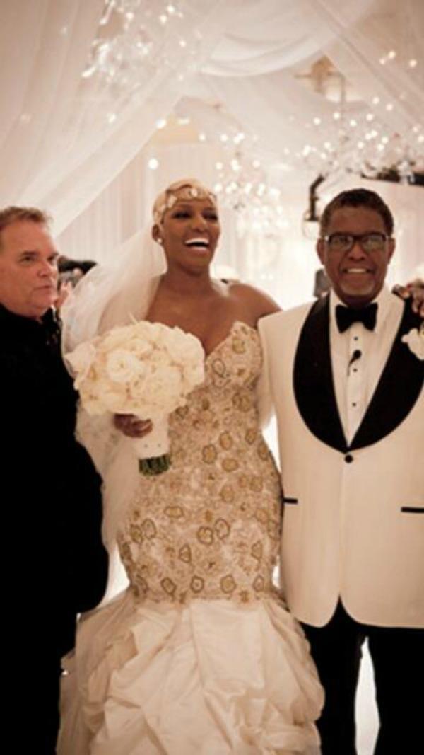 Nene leakes wedding dress