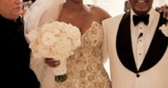 Nene leakes wedding dress