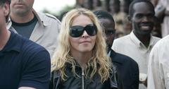 Madonna Visits Local Village In Malawi