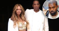Beyonce Jay Z Kanye West