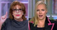 Joy Behar and Meghan McCain