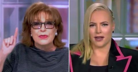 Joy Behar and Meghan McCain