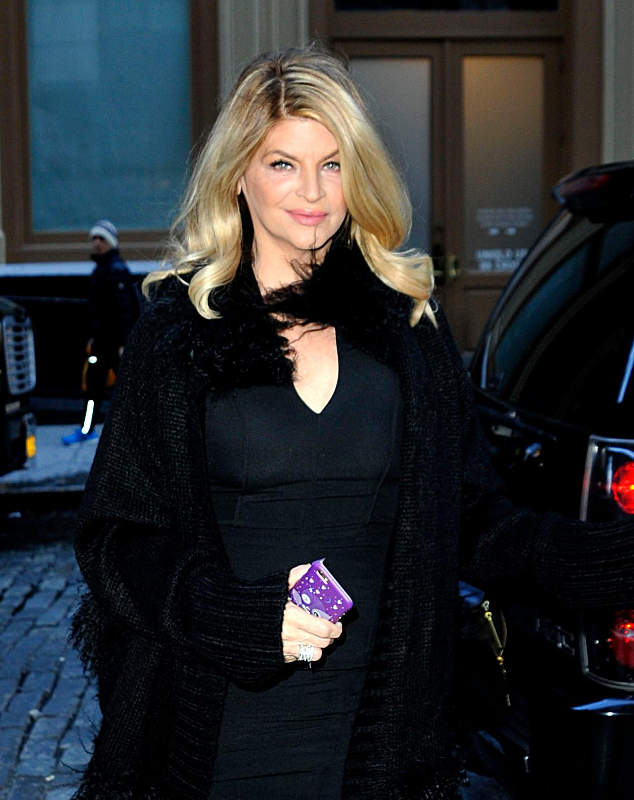 INF – Kirstie Alley spotted in NYC