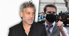 George Clooney] Believes [Tom Cruise] 'Didn't Overact' After His Blow-Up Goes Viral