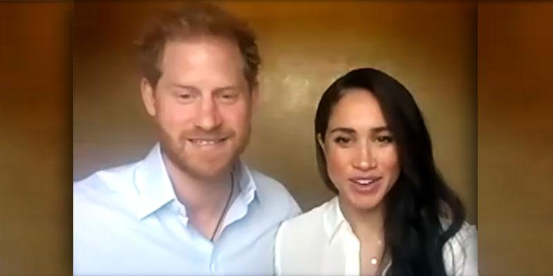 Prince Harry Meghan Markle Speak Young Commonwealth Leaders QCT Talk