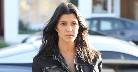 Kourtney Kardashian joins the latest fashion trend
