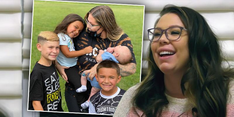 Teen Mom's Kailyn Lowry Admits Her Kids Have Seen Her Have Sex