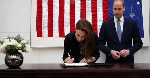 Kate middleton prince william sign condolences book orlando shooting hr