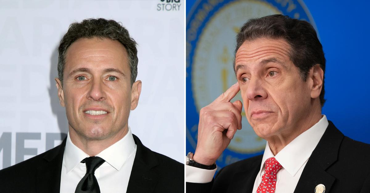 News Anchor Chris Cuomo No Longer Allowed To Cover Brother Andrew Cuomo As Governor's Nursing Home 'Mistake' Unravels