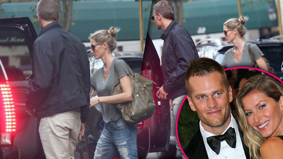 Tom brady gisele divorce rumors fighting together