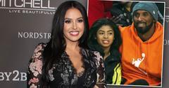 Vanessa Bryant, inset Gianna and Kobe Bryant