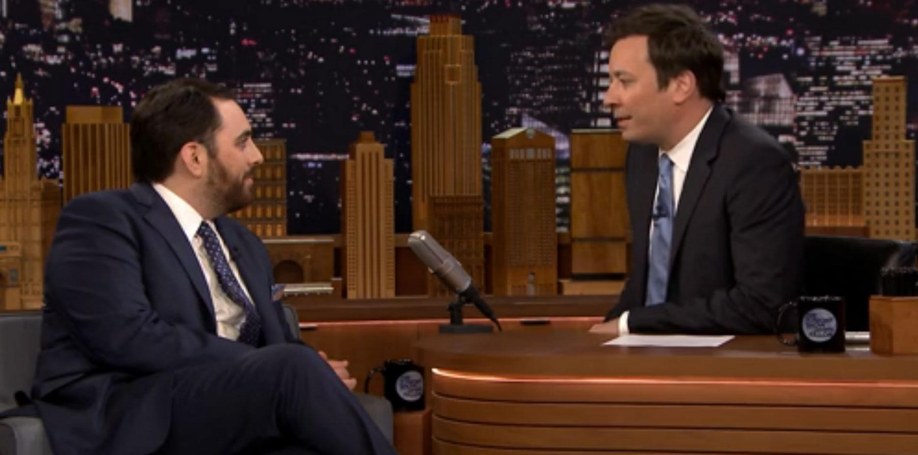 S town host brian reed visits jimmy fallon