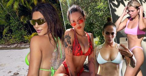 Sexiest Celeb Bikini Pics: Kim Kardashian, Halsey, Lennifer Lopez, Dua Lipa