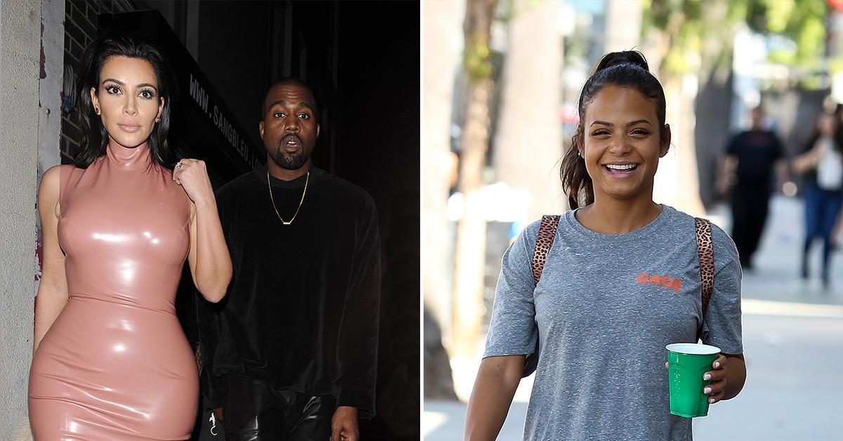 kanye west brags about sleeping with christina milian rumors cheated on kim kardashian pp