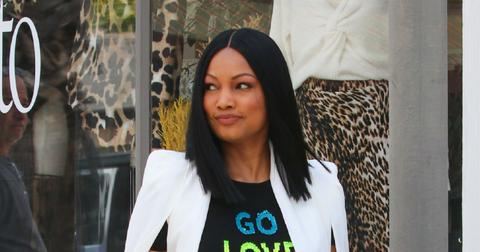 Garcelle Beauvais is seen in Los Angeles, California