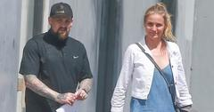 Exclusive… Cameron Diaz & Benji Madden Shop For Furniture In Hollywood