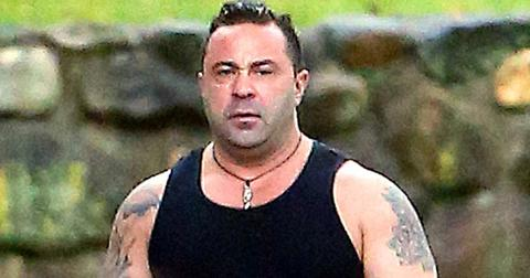 EXCLUSIVE: Joe Giudice Goes for a Solo Morning Walk with his Dog