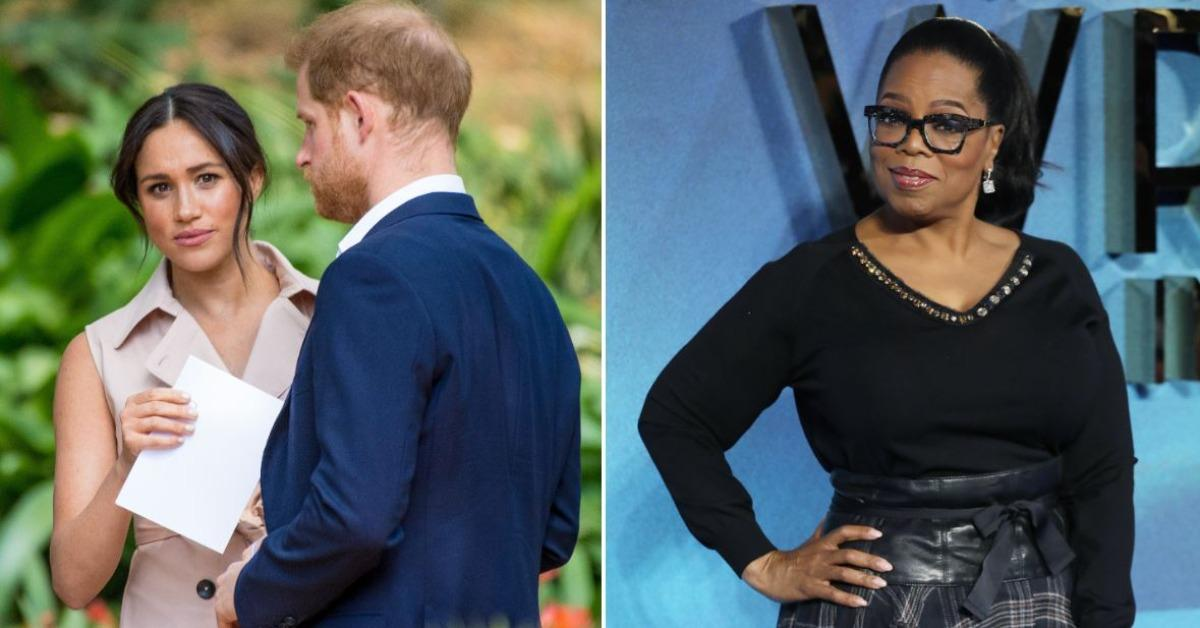 oprah winfrey is playing harry and meghan thomas markle accuses oprah of taking advantage