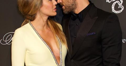 Blake Lively and Ryan Reynolds arrive at the 2014 Angel Ball in New York City