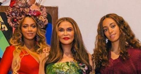 Beyonce mom tina knowles tells all about twins rumi sir carter hero