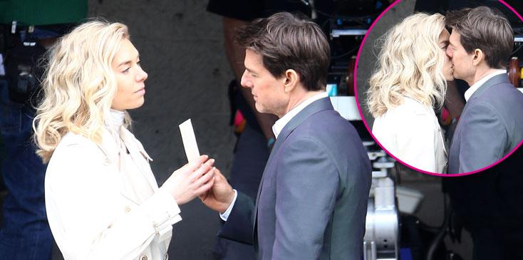 Tom Cruise Vanessa Kirby Mission Impossible Photos Long